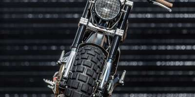 Ducati Scrambler Double Scoop Down e Out Cafe Racers Frontale