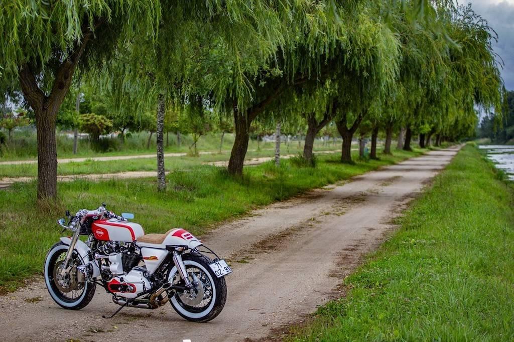 HD Ironhead Cafe Racer 7