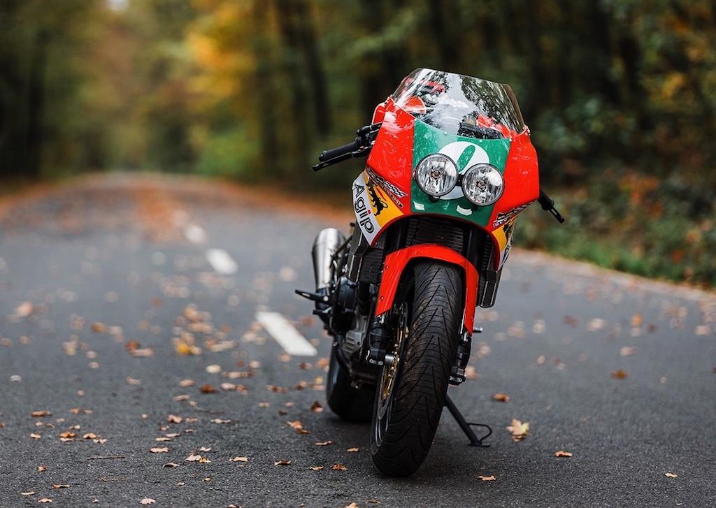 Moto Morini Corsaro veloce custom 4